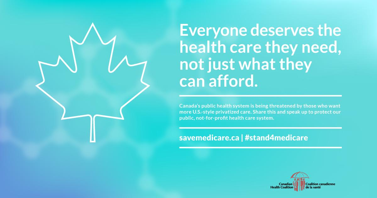 Everyone deserves the health care they need, not just what they can afford.