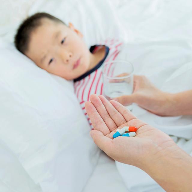 sick child, medication
