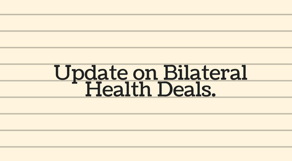 Cuts Coming to Health Care with Bilateral Health Deals